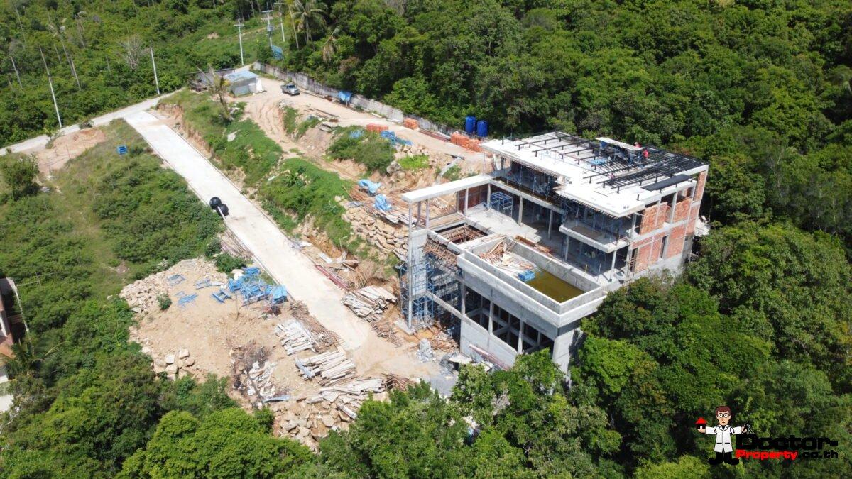 Villa 6 Under Construction - June 2020