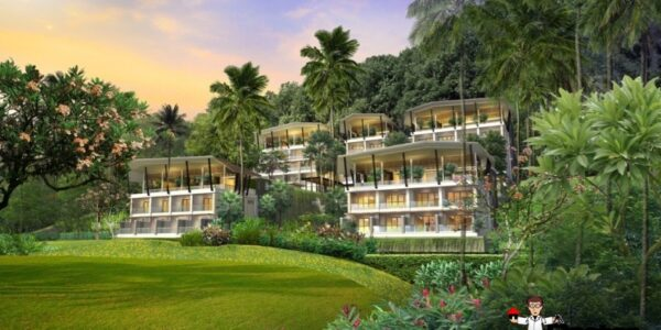 Luxury Condominium with Sea View - Bo Phut, Koh Samui - For Sale