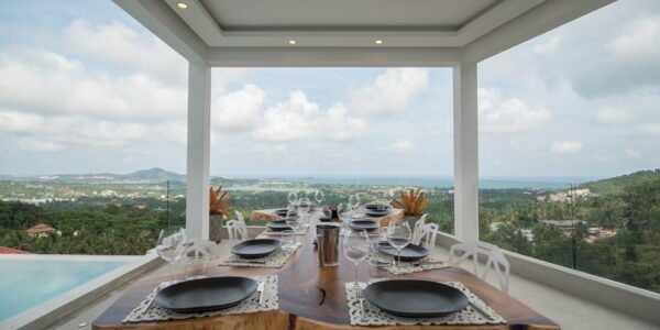 4 Bedroom Sea View Villa - Chaweng - Koh Samui - for sale
