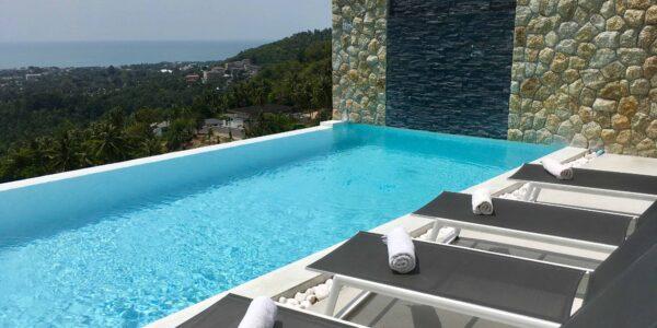 3 Bedroom Sea View Villa - Chaweng - Koh Samui - for sale