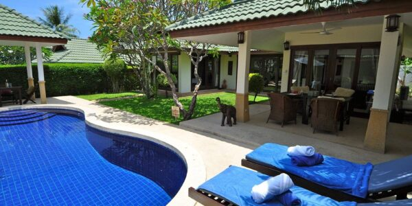 4 Bedroom Pool Villa - Choeng Mon - Koh Samui - for sale
