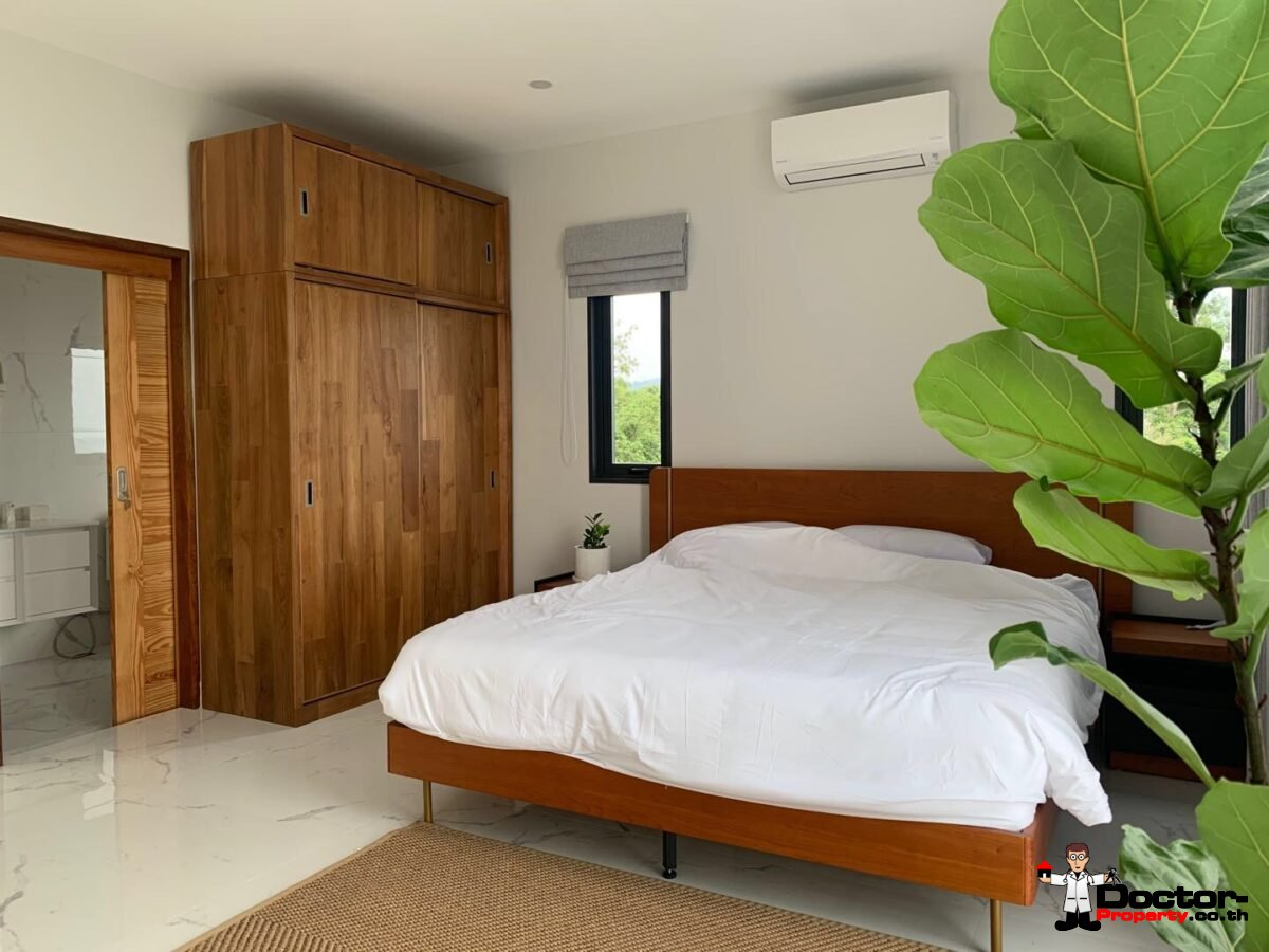 New 3 Bedroom Sea View Villa - Bang Makham -Koh Samui - for sale