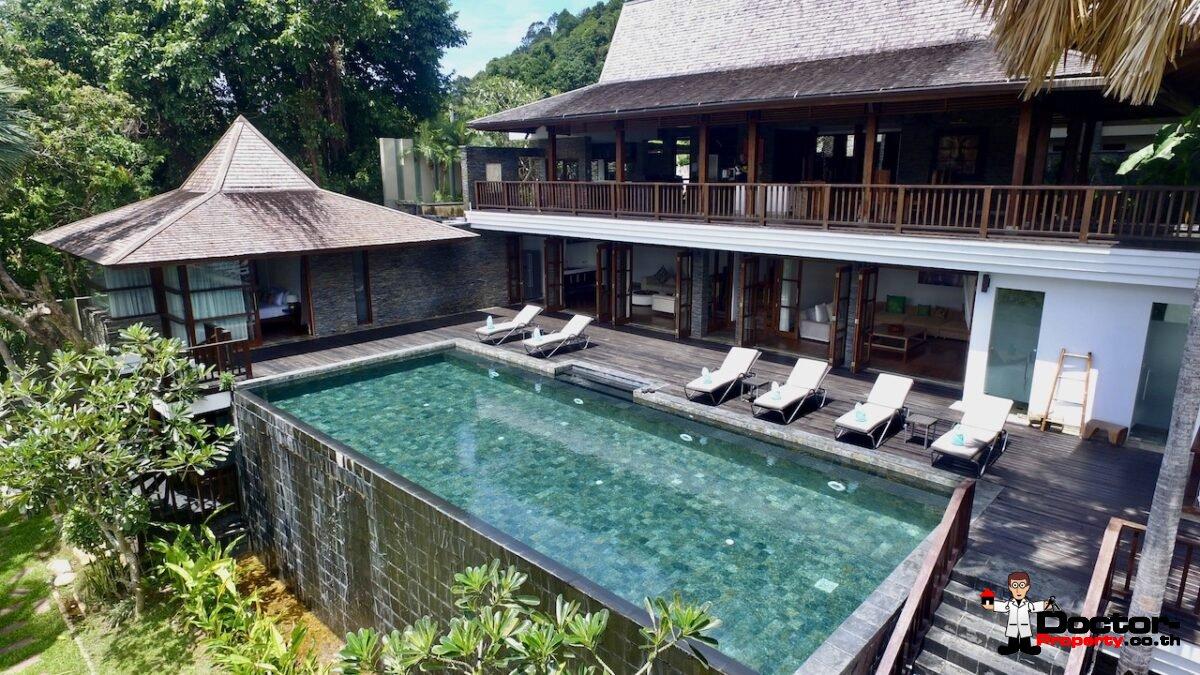 Beachfront 5 Bedroom Villa - Taling Ngam - Koh Samui - for sale