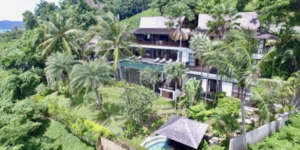 Beachfront 5 Bedroom Villa - Taling Ngam - Koh Samui - for sale