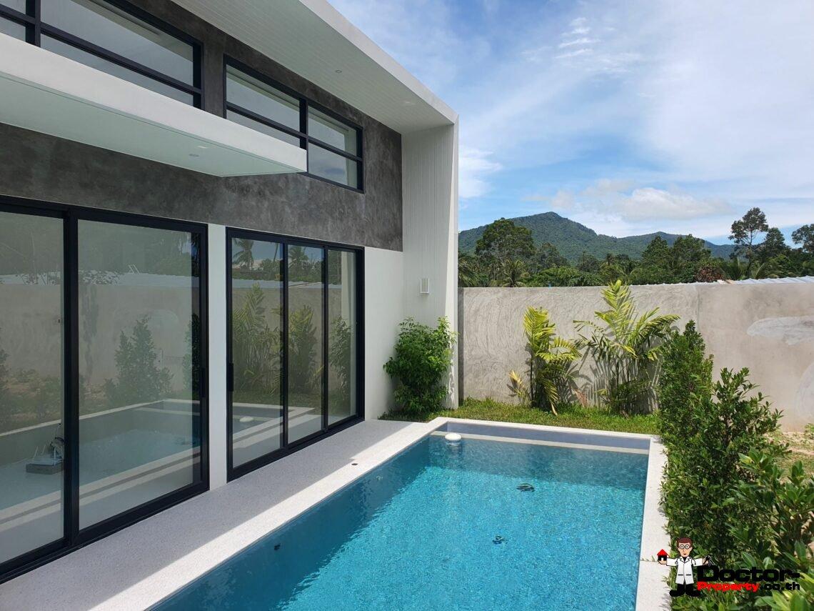 New 2 Bedroom Pool Villa – Mae Nam, Koh Samui – For Sale