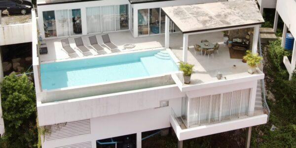 3 Bedroom Sea View Villa – Chaweng, Koh Samui – For Sale
