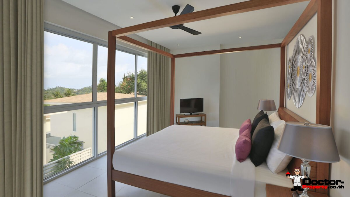 A Boutique Resort with 15 Private Villas - Choeng Mon, Koh Samui - For Sale