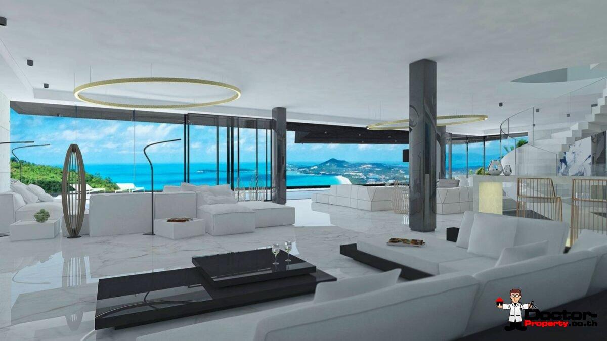 3_Bedroom_Sea_View_Villa-Bophut_Koh-Samui_for_sale
