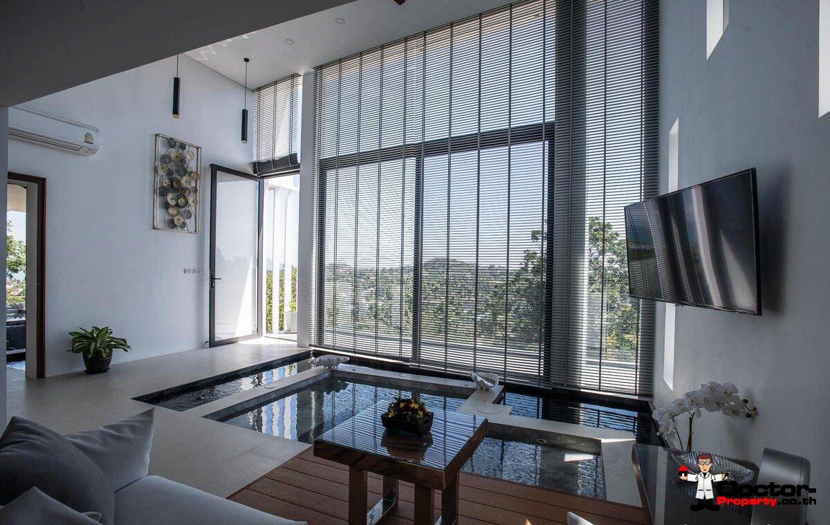5 Bedroom Sea View Villa - Plai Laem - Koh Samui - for sale