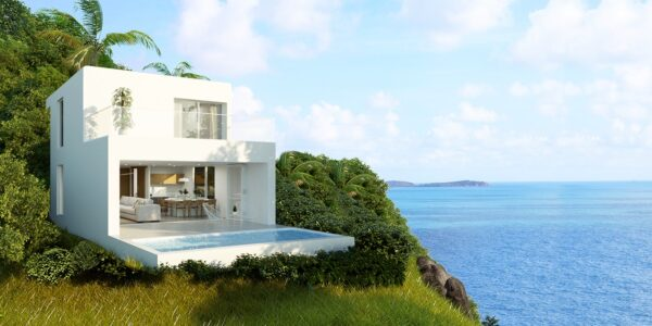 New 2 Bedroom Villa, Close to Beach – Chaweng Noi, Koh Samui – For Sale (dup)