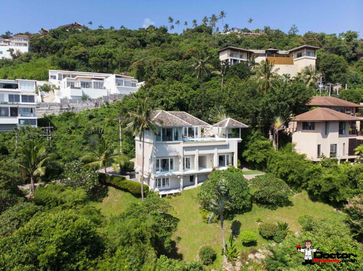 5 Bedroom Sea View Villa - Bophut - Koh Samui - for sale