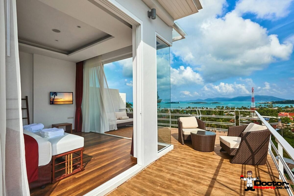 2 Bed Freehold Condo with Sea View – Big Buddha, Koh Samui – For Sale
