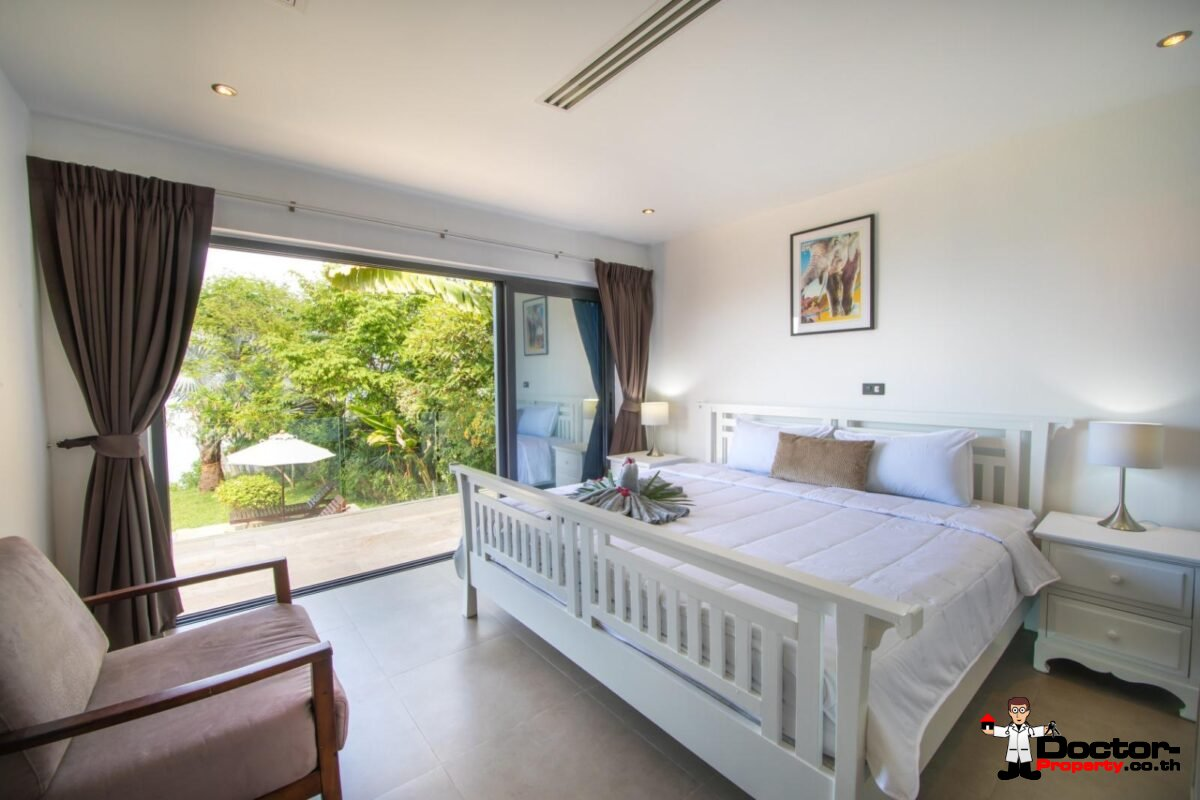 Fantastic 3 Bedroom Villa on the Beach - Bang Rak - Koh Samui - for sale