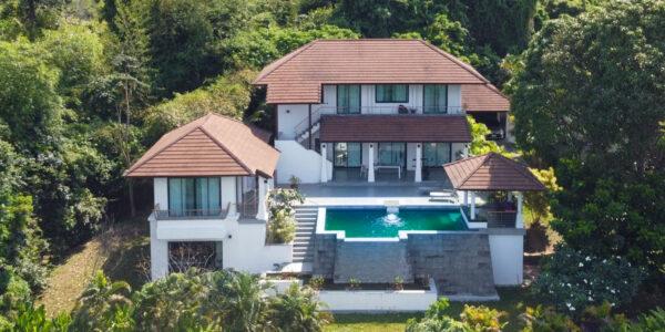 3 Bedroom Pool Villa with Sea view – Mae Nam, Koh Samui – For Sale