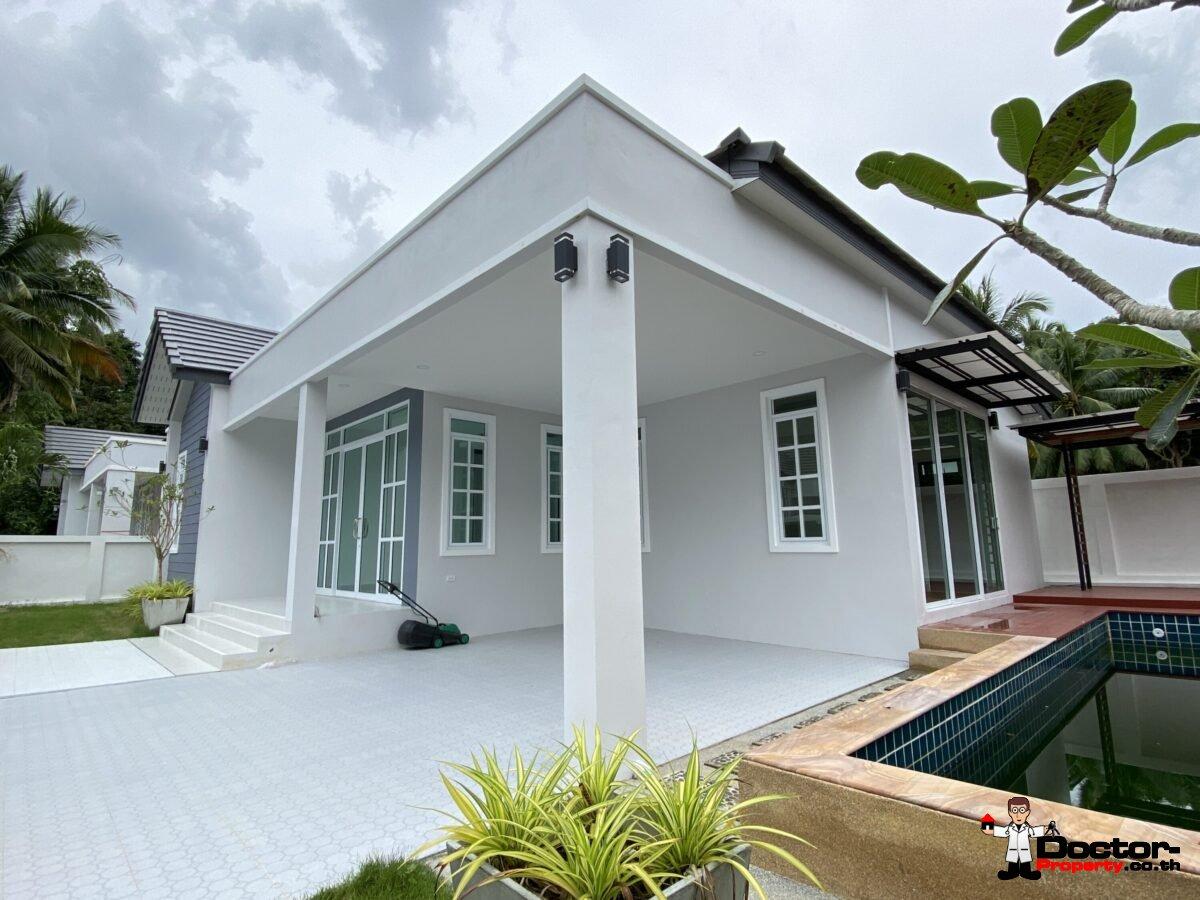 New 3 Bedroom Pool Villa – Taling Ngam, Koh Samui – For Sale