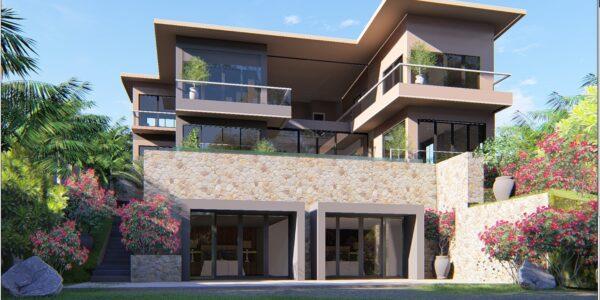 Luxury 9 Bedroom Sea View Villa – Bophut – Koh Samui – for sale
