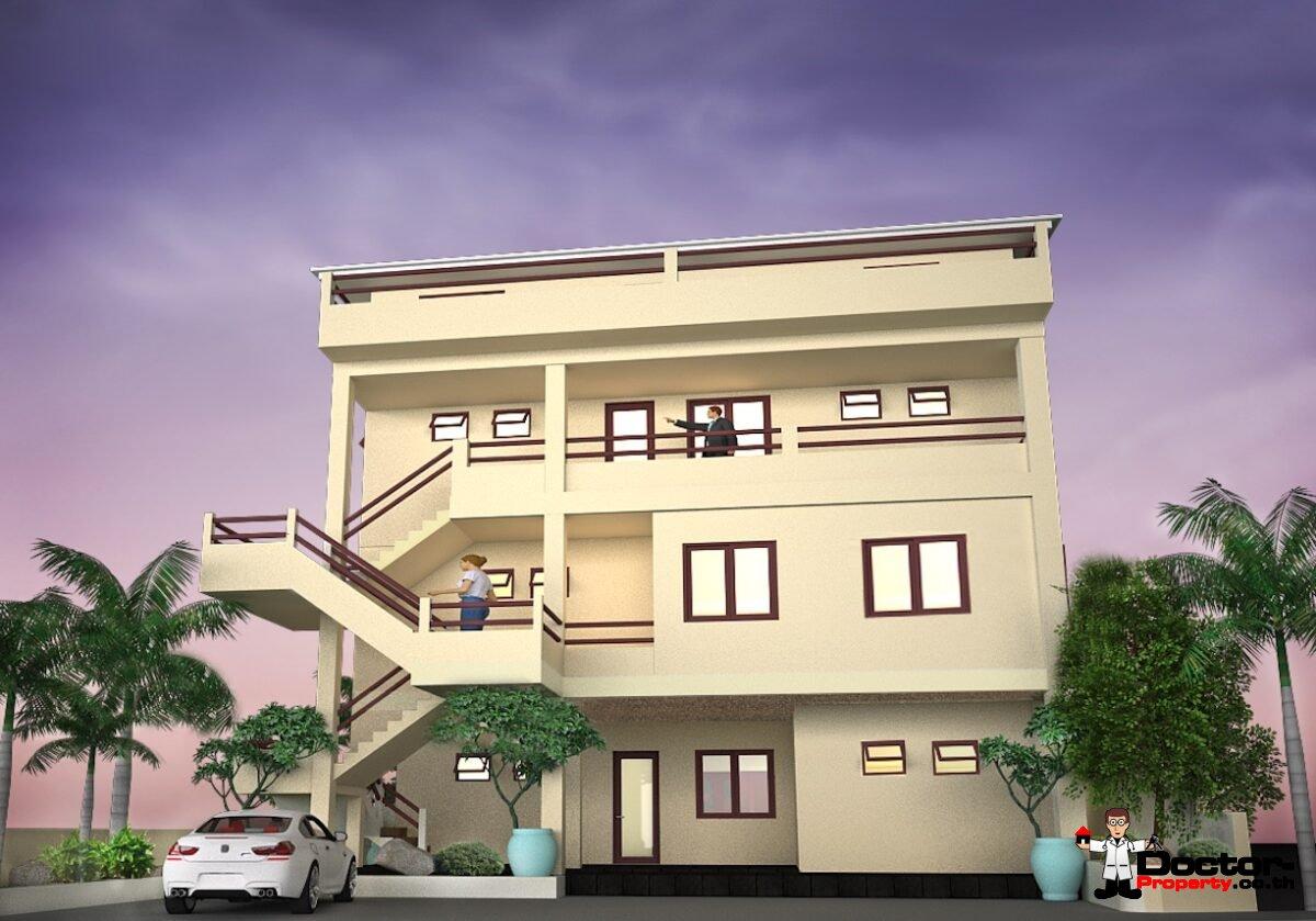 Sea View 12 Bedroom Apartment Building - Bang Rak - Koh Samui - for sale