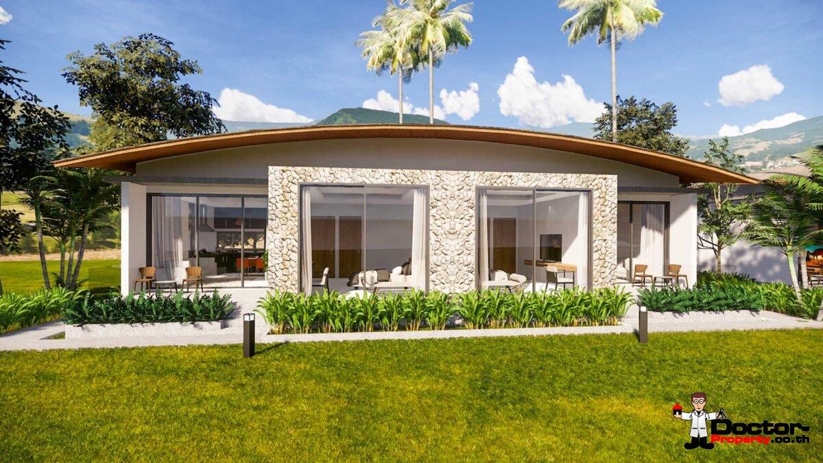 New 1 Bedroom Sea View Villa - Mae Nam - Koh Samui - for sale