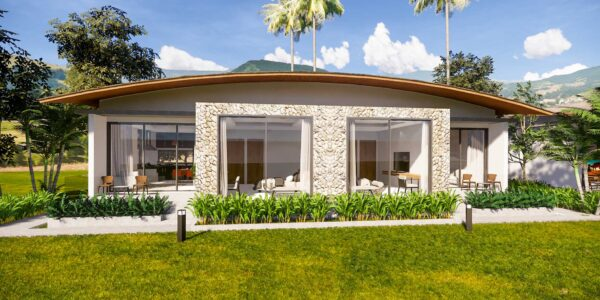 New 1 Bedroom Sea View Villa - Mae Nam - Koh Samui - for sale
