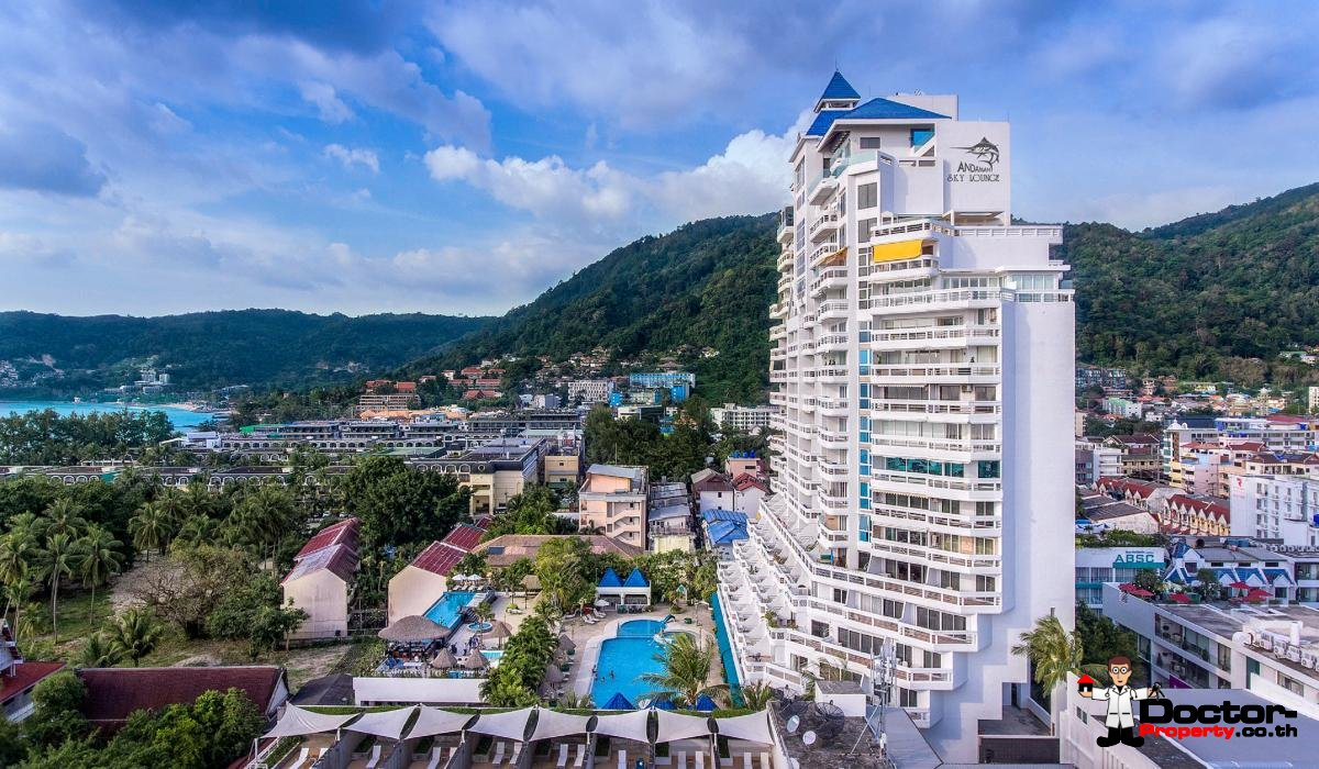 2 Bedroom Deluxe Condo - Andaman Beach Suites - Patong Beach - Phuket - for sale