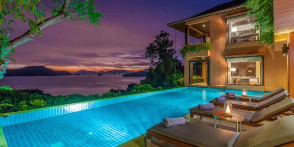 3 Bedroom Sea View Villa Sri Panwa - Cape Panwa - Phuket - for sale