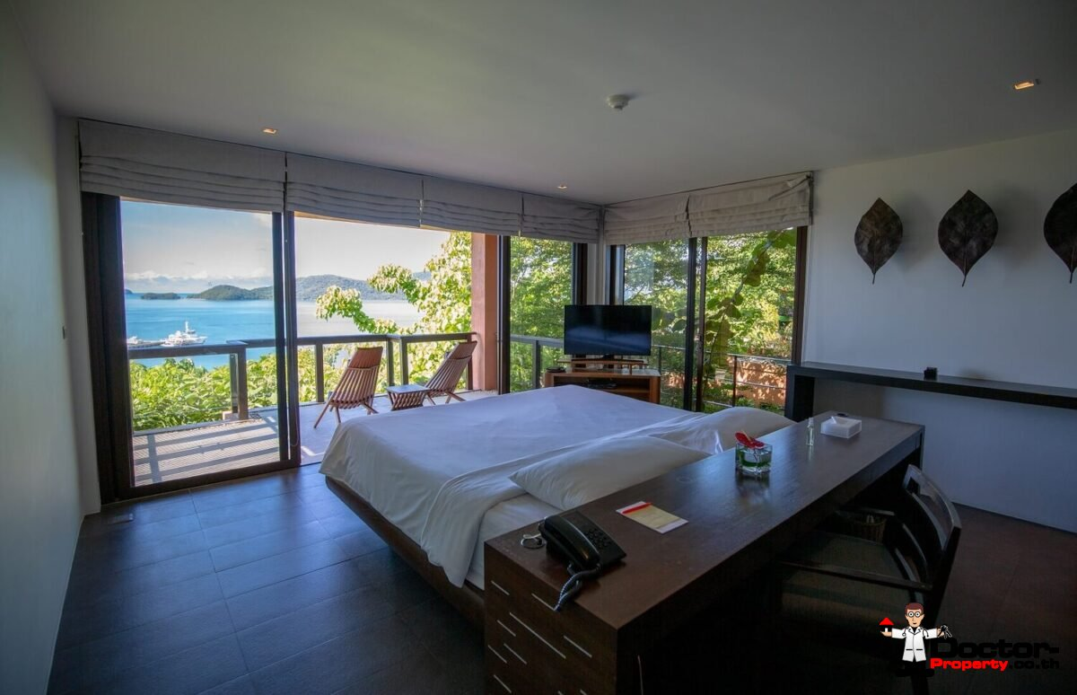 3 Bedroom Sea View Villa Sri Panwa - Cape Panwa - Phuket - for sale