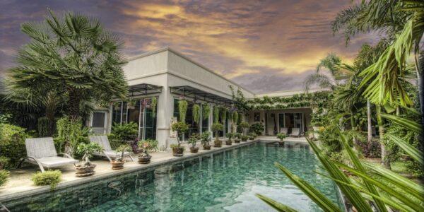 4 Bedroom Pool Villa – The Vineyard – Mabprachan – East Pattaya – for sale