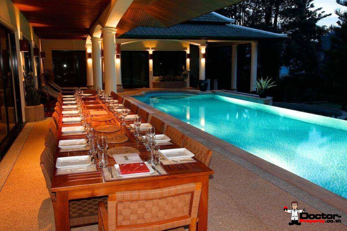 5 Bedroom Panoramic Mountain View Villa - Nai Harn Beach - Phuket - for sale