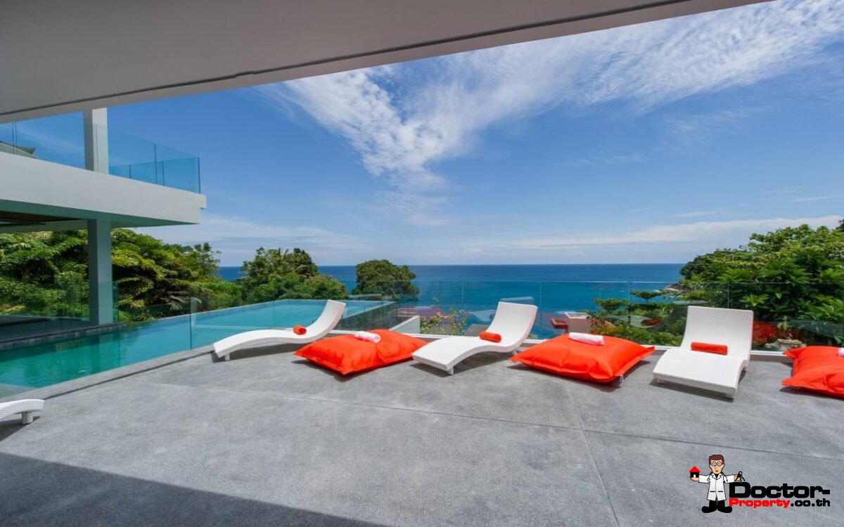 Amazing Ocean View 6 Bedroom Villa Cape Amarin Estate - Kamala - Phuket - for sale
