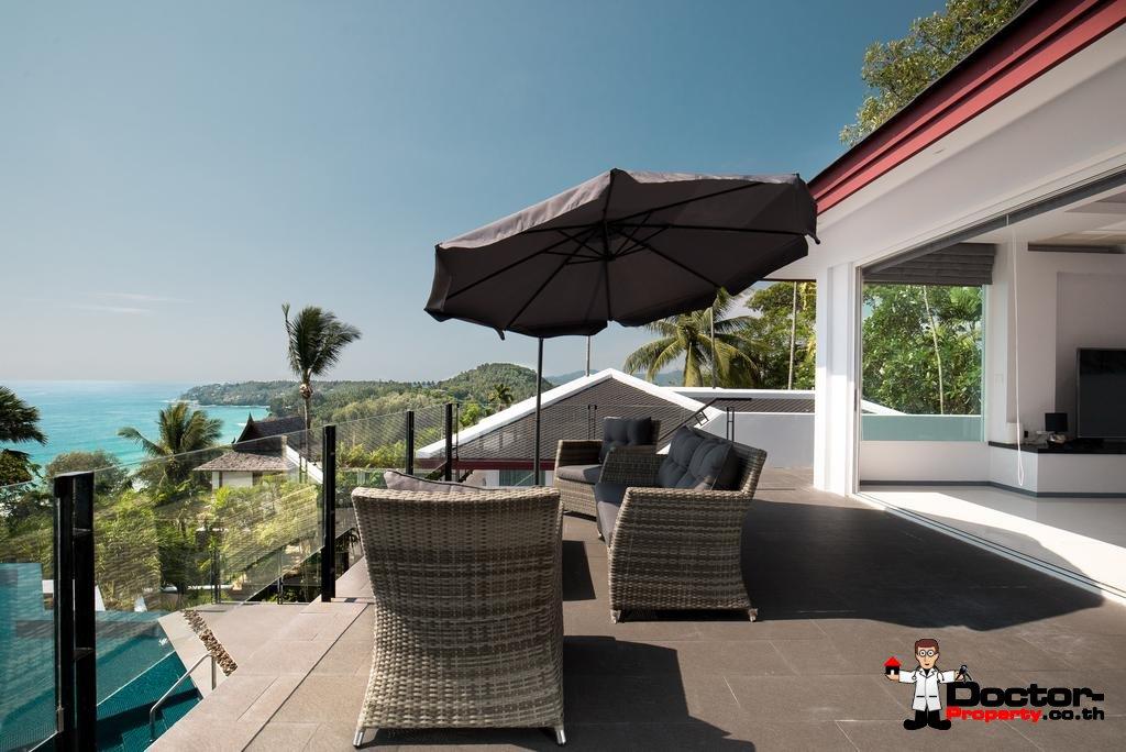 Breathtaking Sea Views 5 Bedroom Luxury Pool Villa – Surin Beach – Phuket – for sale