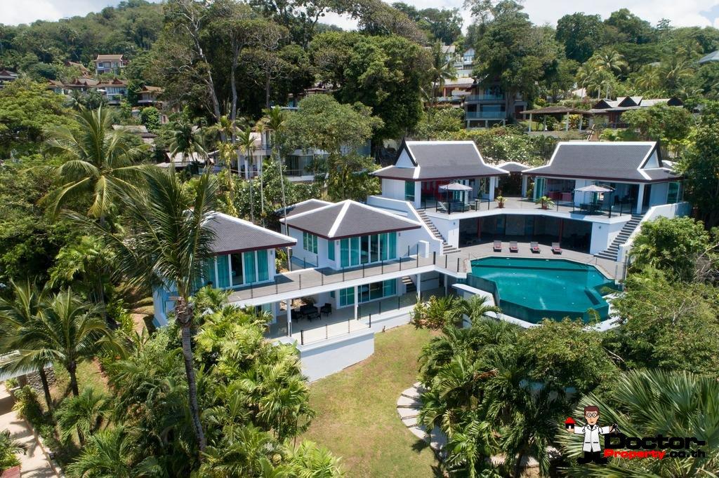 Breathtaking Sea Views 5 Bedroom Luxury Pool Villa - Surin Beach - Phuket - for sale