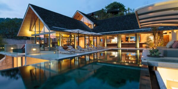 Fantastic 5 Bedroom Sea View Villa Saengootsa - Kamala Beach - Phuket West - for sale