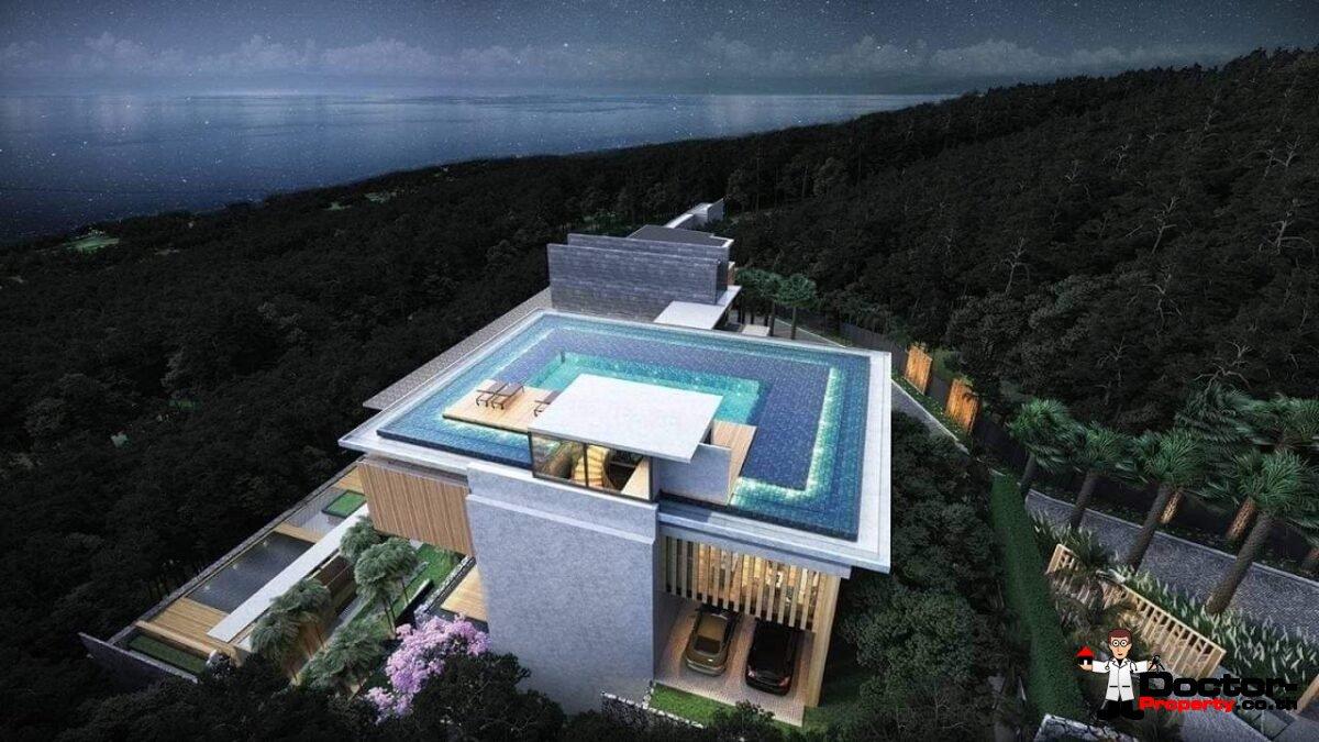 Luxury 4 Bedroom Sea View Villa - Nathon - Koh Samui - for sale