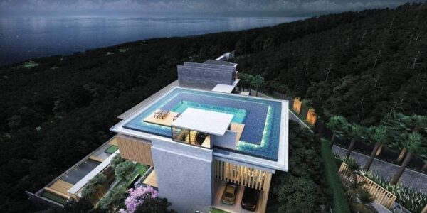 Luxury 4 Bedroom Sea View Villa - Nathon - Koh Samui - for sale