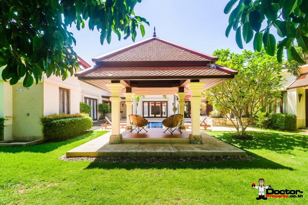 Luxury 3 Bedroom Private Pool Villa Sai Taan - Bang Tao Beach - Phuket - for sale
