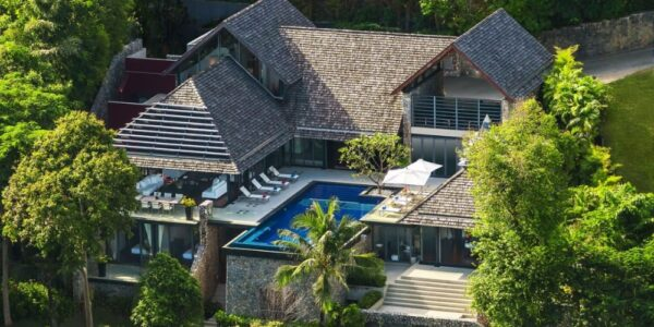 Luxury Sea View 4 Bedroom Villa - Leelavadee - Kamala Beach – Phuket West – for sale