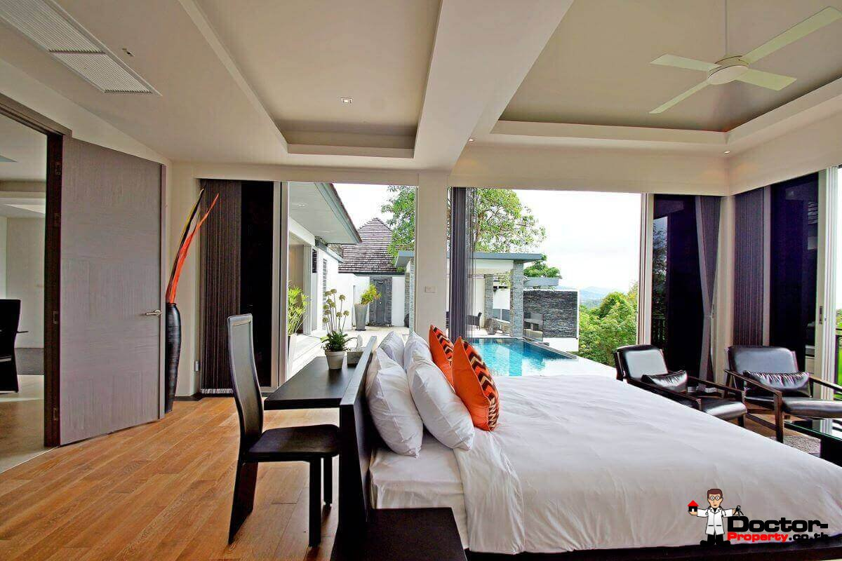 Panoramic Sea View Pool Villa 3 Bedroom - Layan Beach - Phuket - for sale