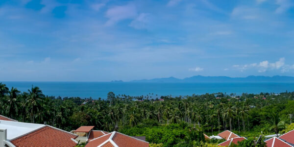 Refurbished 4 Bed Pool Villa with Seaview – Bang Por, Koh Samui – For Sale