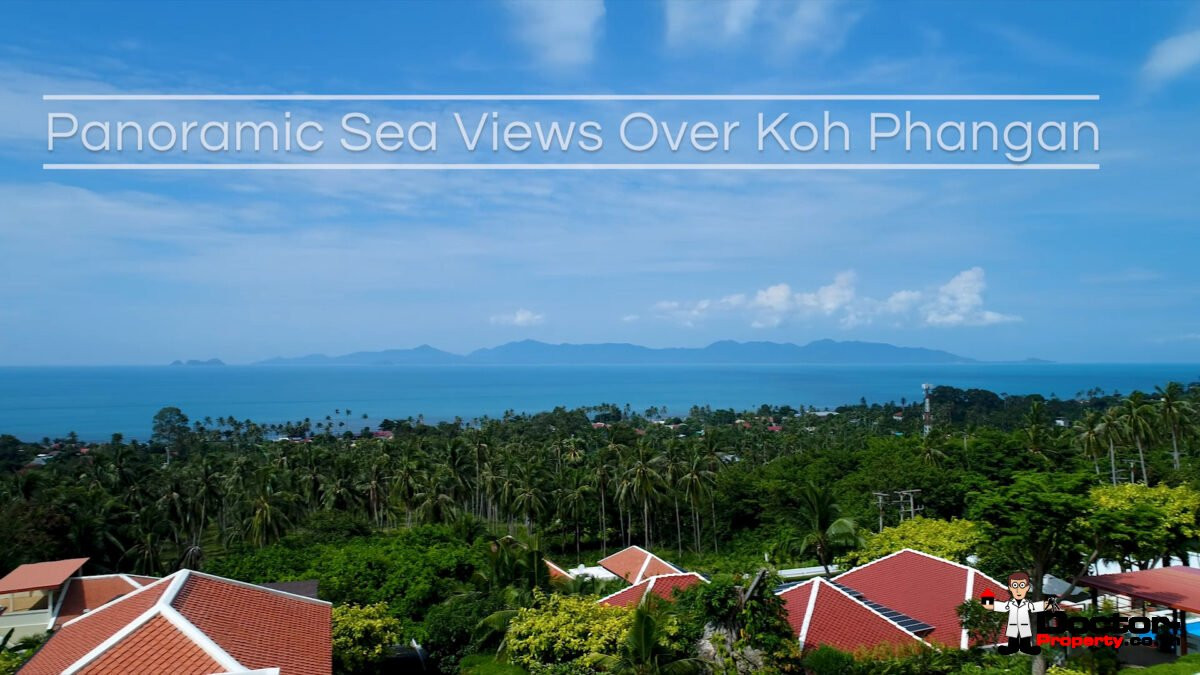 Refurbished 4 Bed Pool Villa with Seaview – Bang Por, Koh Samui – For Sale