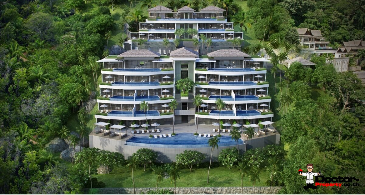 Sea View 3 - 4 Bedroom Penthouses - Surin - Phuket - for sale