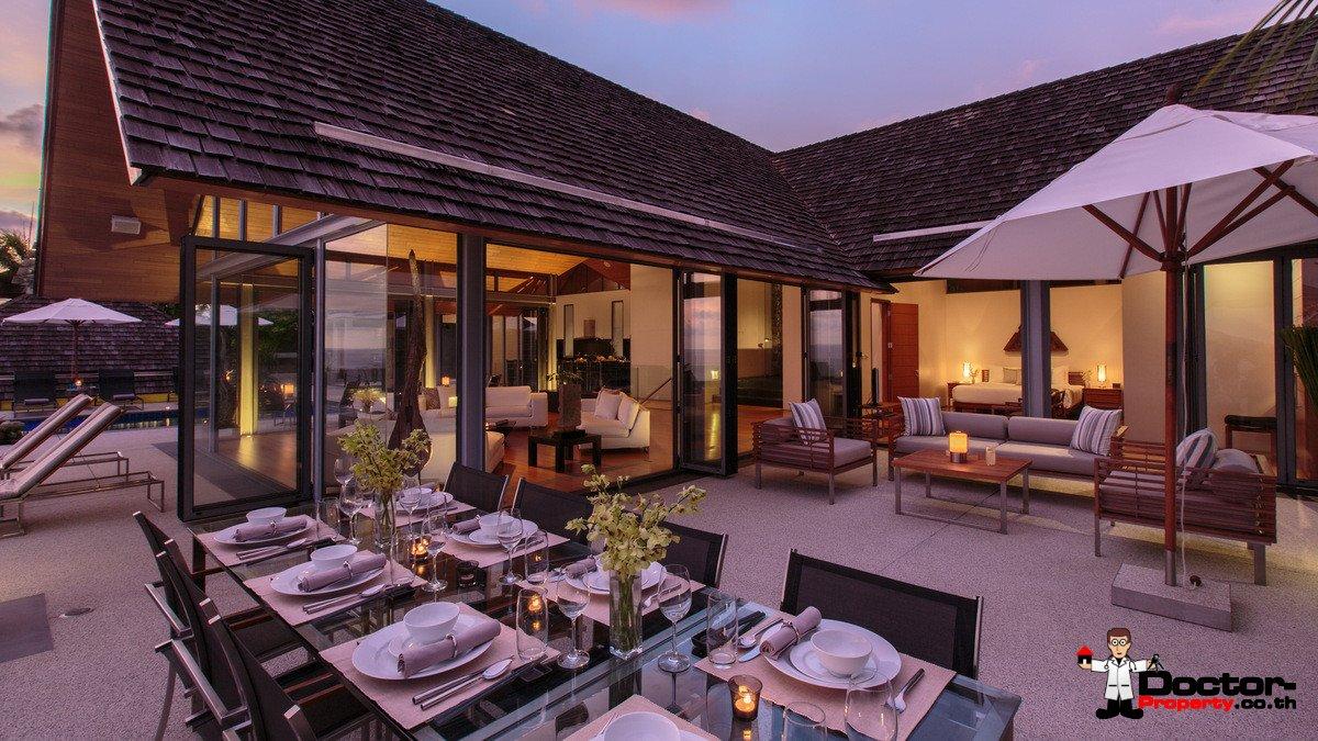 Sea View 5 Bedroom Luxury Villa Benyasiri – Kamala – Phuket – for sale