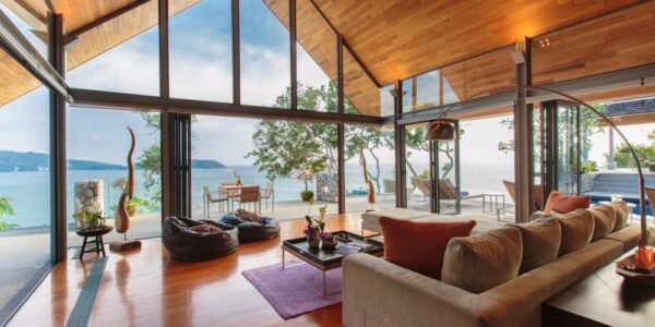 Stunning 4 Bedroom Oceanfront Hale Malia Villa – Kamala Beach – Phuket West – for sale