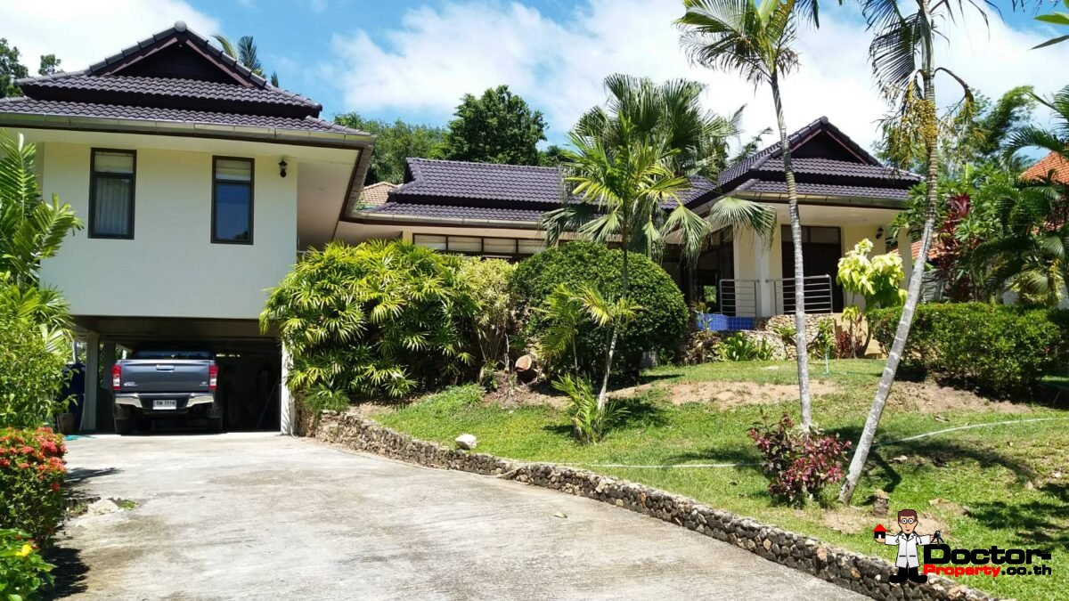 3 Bedroom House with Swimming Pool - Bang Por, Koh Samui - For Sale