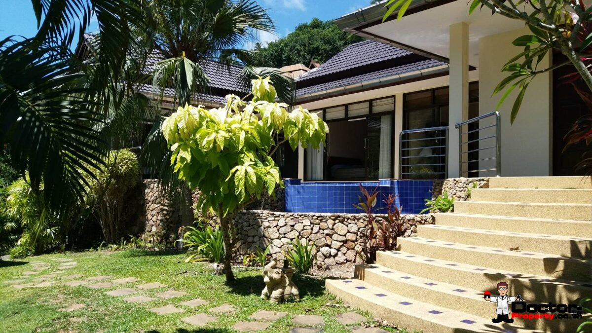 3 Bedroom House with Swimming Pool - Bang Por, Koh Samui - For Sale