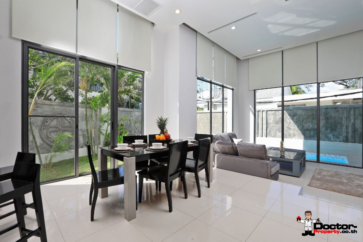 3 Bedroom Exclusive Private Pool Townhouse - Kata Noi Beach - Phuket South - for sale