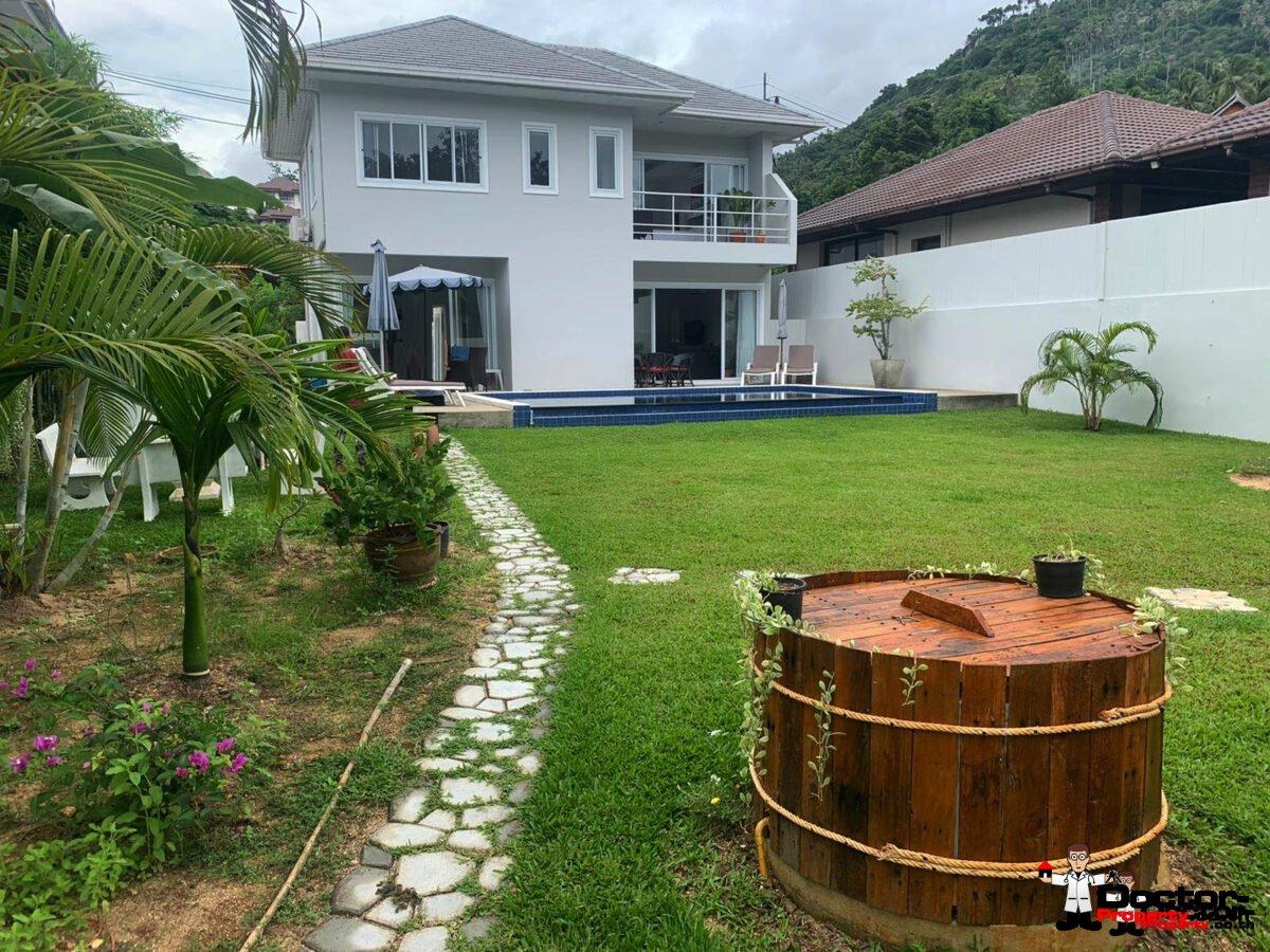 3 Bedroom Pool Villa – Lamai – Koh Samui – for sale