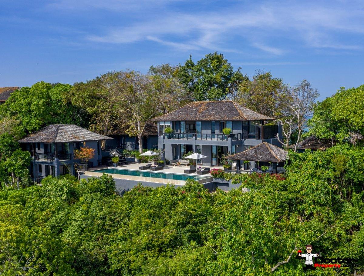 4 Bedroom Luxury Sea View Villa – Sri Panwa Estate – Cape Panwa, Phuket – For Sale