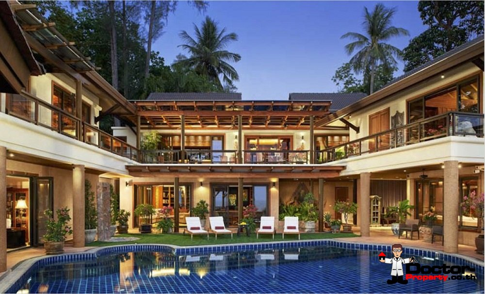 4 Bedroom Ocean Front Pool Villa - Kata Beach - Phuket South - for sale