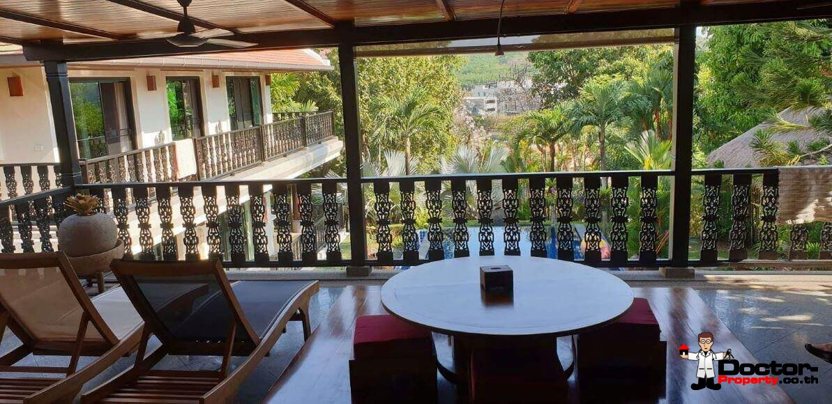4 Bedroom Pool Villa - Baan Bua - Nai Harn Beach - Phuket South - for sale