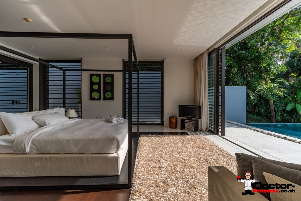 4 Bedroom Sea View Villa - Serenity - Cape Yamu - Phuket East - for sale